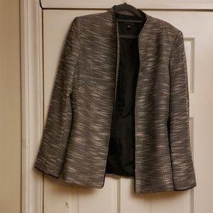 Kasper Women's  Blazer Silver/Black Size 8